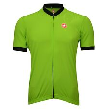 New Castelli GPM Short Sleeve Jersey, Men's, XL, Green
