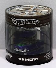 HOT WHEELS  LIMITED EDITION  49 MERC KOOL & KUSTOM DIECAST MODEL *NEW*