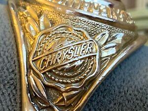 Vintage Chrysler 10K Gold CENTURION CHAPTER OF THE MEDALLION CLUB