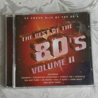 THE BEST OF THE 80's VOL II - (20 SMASH HITS OF THE 80'S)