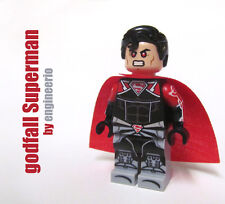 LEGO Custom -- godfall Superman -- DC super heroes mini figure injustice batman