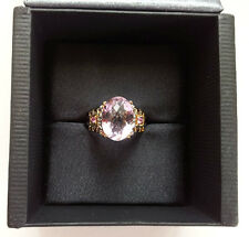 Gems En Vogue - Pink Amethyst & Pink Tourmaline PS with 18ct YGP Ring