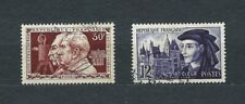 FRANCE - 1955 YT 1033 à 1034 - TIMBRES OBL. / USED