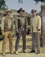 THE BIG VALLEY photo 041 Lee Majors Peter Breck