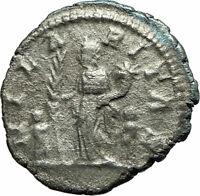 JULIA DOMNA 196AD Rome Silver Authentic Ancient Roman Coin Hilaritas   i76133