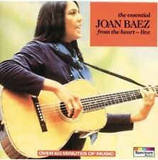 Joan Barz - The Essential from the Heart Live CD Like New Best Of Greatest Hits