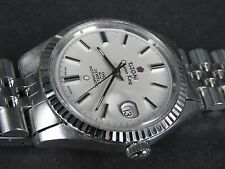 VINTAGE TITONI COSMO KING 2824-2 25J ROTOMATIC SWISS ETA DATE AUTOMATIC MEN WATC