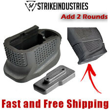 Strike Industries Enhanced Magazine Base Plate Extension Add +2 Rd for Glock 42