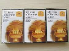 DISCOVERING THE CLASSICS 300 YEARS OF GLORIOUS MUSIC 3 X CASSETTE TAPES, TESTED