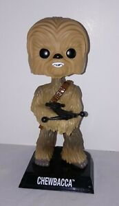 "CHEWBACCA CUSTOM BOBBLEHEAD Pop Funko Star Wars Disney 7"" wookie NEW"