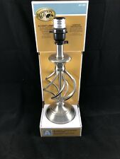 Brushed Nickel Accent Lamp Lighting Table Lamp 13.8""