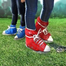 One Pair Festival Feet Blue Sneaker Shoe Covers Color Rain Mud Protector Boy Gir