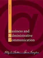 Business and Administrative Communication by Kitty Locker