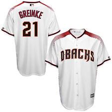 Zack Greinke Arizona Diamondbacks Kids Size 5/6 Red White MLB Jersey $50