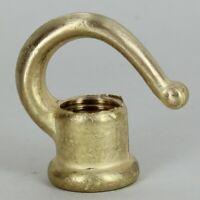 "LAMP HARP ~ SHADE RISER ~ Solid Turned Brass ~ 1//2/"" Tall ~  #YB62"