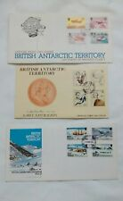 British Antarctic Territory Official First Day Cover Stamps Lot 1983 1985