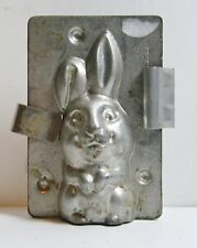 Vintage Rare Bunny Chocolate Mold Made In Germany Gesetzl