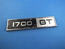 Original Ford Capri Taunus Emblem Logo Schriftzug 1700 GT  Typenschild 1700GT