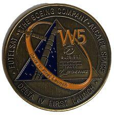 Eutelsat W5 Boeing Delta IV Mission Challenge Coin First Delta IV launch ULA