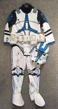 Star Wars Clone Trooper Dress up Costume Taille Unique environ 5-7 ans kids