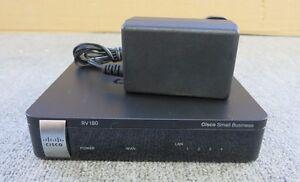 Cisco RV180 4 Port Small Business Multifunction VPN Router