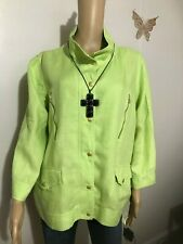 Womens Jackets Chico's, Green Lime,Size 3