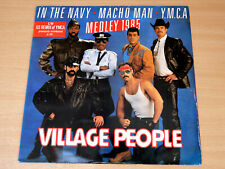 "EX !! Village People/1985 Medley/1985 Record Shack 12"" Single/In The Navy/YMCA"