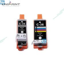 Ink Cartridge PGI35 CLI36 for Canon PIXMA IP100 IP100B IP110 mini260 MINI320