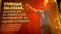 Enrique Iglesias. Palacio De Los Deportes.
