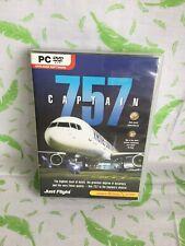 PC DVD-ROM 757 CAPTAIN - Microsoft Flight Simulator X FS2004 FSX ADD-ON - (turq)