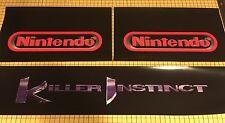 Killer Instinct Arcade Control Panel Box Art Artwork KI CPO Midway