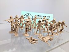 Marx Toys Daktari African Hunters, Recast. Jungle Jim Kulu. In Tan