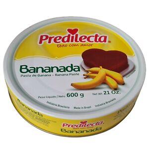 Predilecta Bananada Banana Paste 600g Brazilian Jam