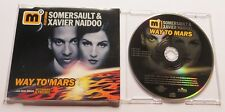 XAVIER NAIDOO & SOMERSAULT - Way to Mars - 4 Track PICTURE CD 2001