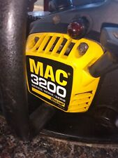 """New listing McCulloch MAC 3200 32CC 14"""" Bar Gas Chainsaw Vintage"""