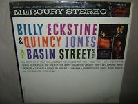 BILLY ECKSTINE & QUINCY JONES at Basin Street East SEALED New Vinyl LP SR-60674