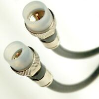 SOLID COPPER 3GHz RG6 Satellite Coax Cable 18AWG 75 Ohm CL2, Custom Cut to 200ft