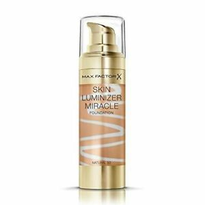 MAX FACTOR SKIN LUMINIZER MIRACLE FOUNDATION NATURAL 50 NEW & SEALED