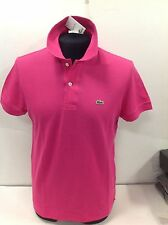 Lacoste Short Sleeves Polo Shirt Italian Fit 100 Genuine Size 3/small