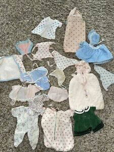 Vintage Vogue Ginnette Ginny Outfits Dress Bonnet Panties Diapers Lot