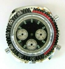 BFG 590 Flyback Chronoraphe case 60's with dial, NOS, SWISS MADE