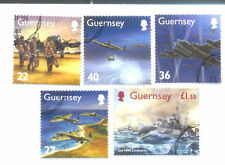 Military, War Used Channel Islander Regional Stamp Issues
