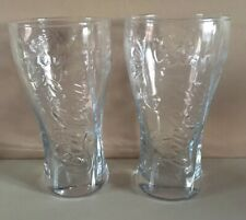 2 X 2010 SOUTH AFRICA WORLD CUP COKE GLASSES