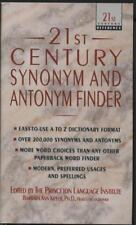 21st Century Synonym and Antonym Finder (21st century reference series-ExLibrary