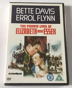 The Private Lives of Elizabeth and Essex (1939) NEW SEALED UK DVD - Bette Davis