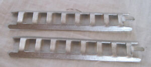 Pair of replacement small  8 rung ladders for Marx fire truck