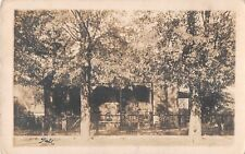 Missouri real photo postcard Lebanon House Honer Houer