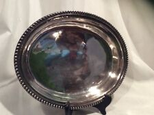 """Silver Plated Vintage Oval Meat Serving Tray Plate Bowl Platter Size 9""""x6"""""""