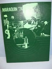 1974 Maraquin, Saint Thomas Aquinas High School, New Britain, Conn Yearbook