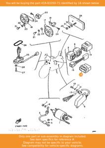YAMAHA Flasher Relay Assy, 41R-83350-71 OEM FJ1200 FZR1000 XJ600 FZ750 XV535